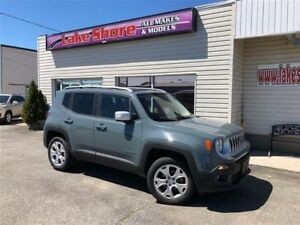 2017 Jeep Renegade Limited NAVIGATION
