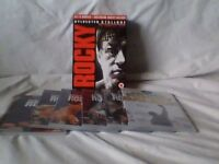 Rocky films 1 to 6 boxed set of DVD's