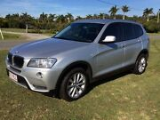 2012 BMW X3 F25 MY0412 xDrive20d Steptronic Silver 8 Speed Automatic Wagon Stapylton Gold Coast North Preview