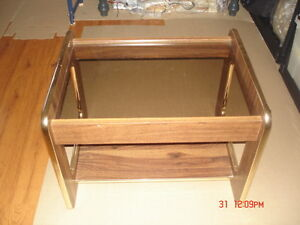 Small Glass Top Coffee / End Table