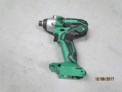 Hitachi Wh18dgl 18 Volt Impact Driver Tool Only
