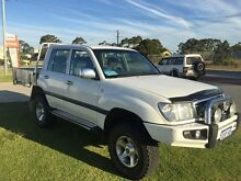 1999 Toyota Landcruiser GXL CUT BACK DUAL CAB  Automatic Dual Cab Wangara Wanneroo Area Preview