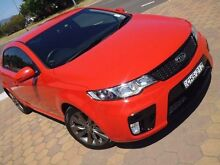 2012 Kia Cerato TD MY12 Koup SI Red 6 Speed Automatic Coupe Phillip Woden Valley Preview