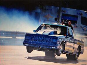 1986 S10 drag truck Drag race