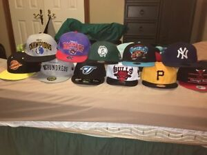SnapBack and fitted hats for sale new era Mitchell and Ness Cambridge Kitchener Area image 1