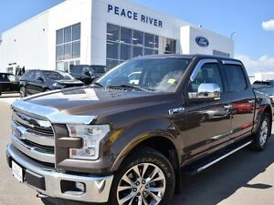 2015 Ford F-150 Lariat 4x4 SuperCrew Cab 5.5 ft. box 145 in. WB