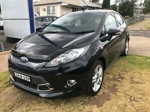 2011 Ford Fiesta WT Zetec Black Mica 6 Speed Automatic Hatchback Young Young Area Preview