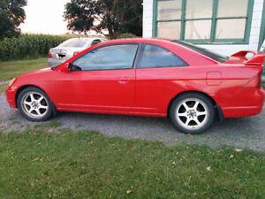 2001 Honda Civic Si 2001 à vendre