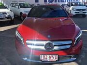 2016 Mercedes-Benz GLA180 X156 806MY DCT Red 7 Speed Sports Automatic Dual Clutch Wagon Townsville Townsville City Preview