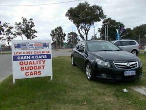 2011 Holden Cruze JG CDX Black 6 Speed Automatic Sedan Maddington Gosnells Area Preview