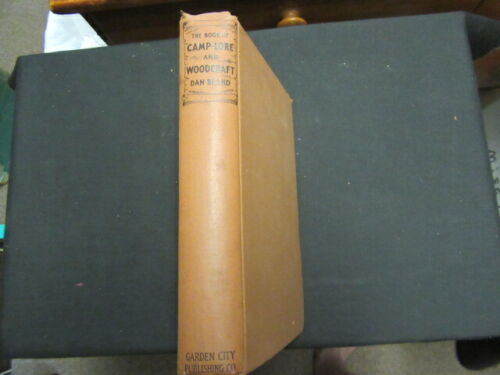 Book of Camp-Lore and Woodcraft, Dan Beard, 1920     mb