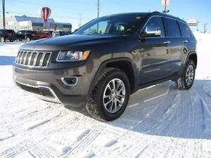 2016 Jeep Grand Cherokee LTD 4x4 3.6L V6 NOW $283 Bi-Wkly!!!
