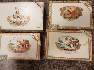 Cuban Cigar Boxes