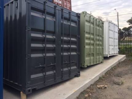 10 FT CONTAINERS FOR SMALL BACK YARDS- IN GEELONG