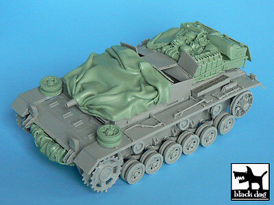 Black Dog 1/35 StuG III Ausf.C/D Tank Stowage & Accessories Set (Dragon) T35009 for sale  Sterling