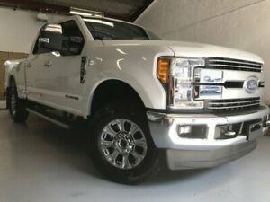 2018 Ford F250 Super Duty Lariat White 6 Speed Utility Fairlight Manly Area Preview