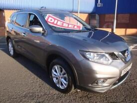 65 NISSAN X-TRAIL DCI 130 BHP ACENTA AUTOMATIC DIESEL 7 SEATER PANROOF