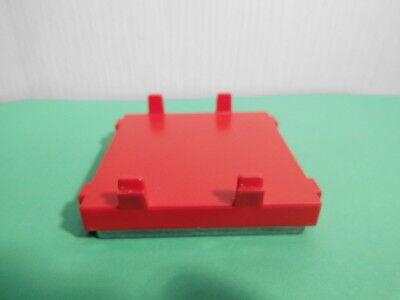 Playmobil  Ersatzteile Waggon Zubehör 1 Waggongewicht mit Halterung rot (4227)