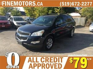 2009 CHEVROLET TRAVERSE LT * 7 PASSENGER * DVD * PANO POWER ROOF London Ontario image 5