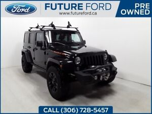 2016 Jeep Wrangler Unlimited Rubicon | FRONT WINCH | NAV | Remot
