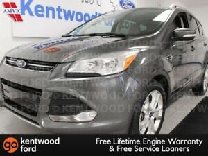 2015 Ford Escape Titanium FWD ecoboost, NAV, heated power leathe