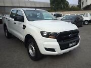 2016 Ford Ranger PX Mkii MY17 XL 3.2 (4x4) White 6 Speed Automatic Crew Cab Utility North Strathfield Canada Bay Area Preview