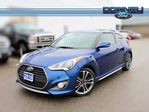 2016 Hyundai VELOSTER TURBO HATCH HTD SEATS VISTA ROOF TRAC CONT