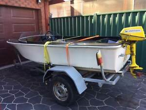 Savage 12ft boat and trailer Footscray Maribyrnong Area Preview