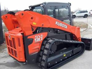 DIY TRACKED LOADER HIRE KUBOTA SVL90 TERREX PT30 Sydney City Inner Sydney Preview