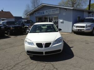 2006 Pontiac G6 Fully Certified! Carproof Verified!
