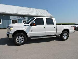 2013 Ford F-350 Lariat,DIESEL,4X4,LEATHER,LOADED!!