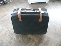 Suitcase for sale . Size : H=63cm , W=68cm-78cm , D=13cm.