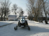 Looking to trade my 2011 Ski Doo Renegade 800R for 5th wheel