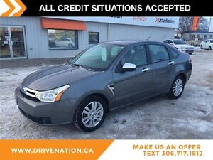 2009 Ford Focus SEL FWD,LEATHER SEATS, BLUETOOTH, KEYLESS ENTRY!