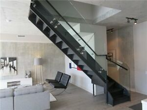 2 Bdrm+Den 2-Storey Penthouse Suite In The Brant Park King West