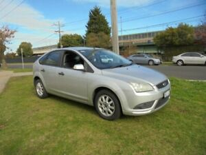 2008 Ford Focus LT LX Silver 5 Speed Manual Hatchback Moorabbin Kingston Area Preview