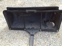 Grass/leaf Bagger Attachment -- missing parts --good for parts