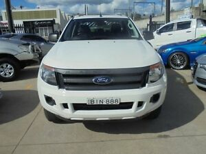 2012 Ford Ranger PX XL White 6 Speed Manual 4D Utility Holroyd Parramatta Area Preview