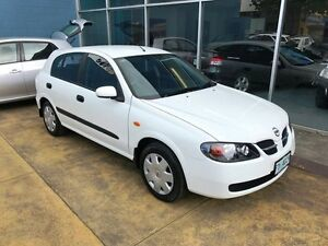2004 Nissan Pulsar N16 MY03 ST White 5 Speed Manual Hatchback Hobart CBD Hobart City Preview