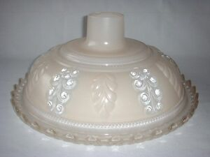 Vintage Torchiere Glass Lamp Shade