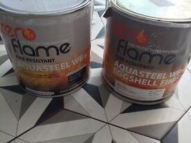 Rawlins paint aquasteel paint - fire-resistant paint