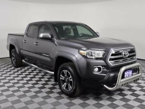 2016 Toyota Tacoma LIMITED/LEATHER/SUNROOF/NAVIGATION/HEATED SEA
