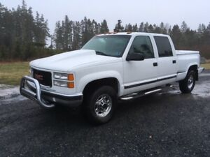 TRUCK FOR SALE 2000 GM CUSTON CREW CAB 454 STEPSIDE