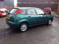 £595 FORD FOCUS GHIA ZETEC - 5 DOOR - SOLID RELIABLE CHEAP CAR