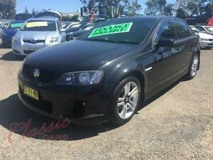 2008 Holden Commodore VE MY08 SV6 Black 5 Speed Automatic Sedan Lansvale Liverpool Area Preview