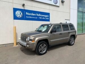2008 Jeep Patriot LIMITED 4WD - LEATHER / SUNROOF / HEATED SEATS
