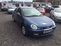 2003 CHRYSLER NEON LX FULL LEATHER AIR CON LOW LOW MILEAGE