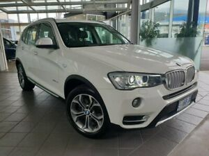 2015 BMW X3 F25 LCI MY0414 xDrive20d Steptronic White 8 Speed Automatic Wagon North Hobart Hobart City Preview