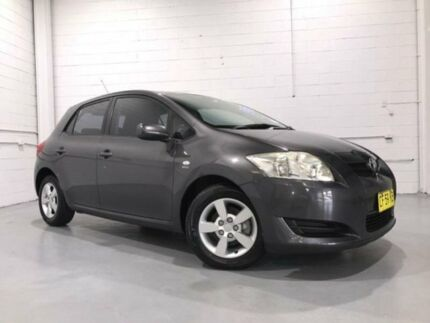 2007 Toyota Corolla ZRE152R Ascent Charcoal 6 Speed Manual Hatchback Windsor Hawkesbury Area Preview