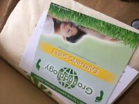 Earthing GROUNDING BED SHEET Double Fitted Sheet
